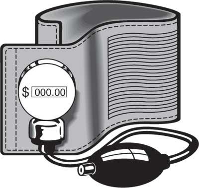 bp cuff-money
